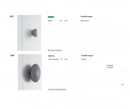 Design Novamobili Kleiderschrank Intono mit Griffvarianten