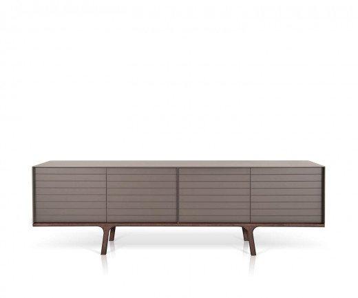 Hochwertiges al2 Mobius 002 Design Sideboard mit vier matt lackierten Türen