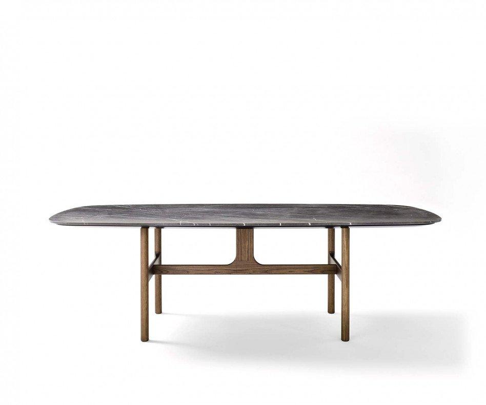 Novamobili Tisch Torii Weiß Matt