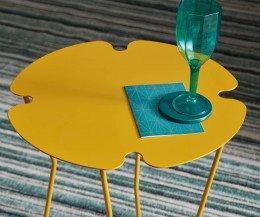 MEME Design Beistelltisch für Getränke in Gelb