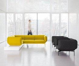 Hochwertiges Prostoria Designer Sofa und Designer Sessel Segment
