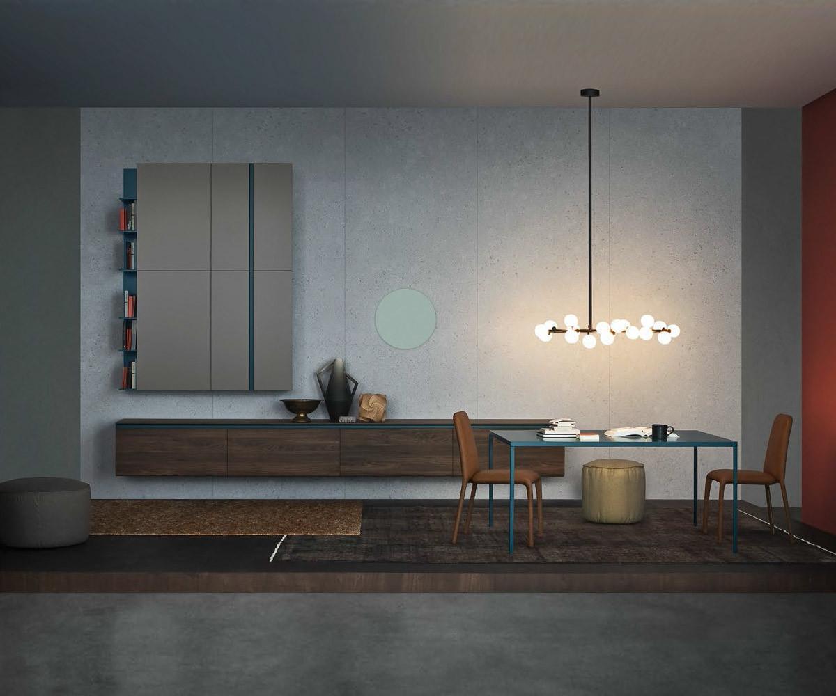 h ngendes reverse lowboard b 240 cm f r wand. Black Bedroom Furniture Sets. Home Design Ideas