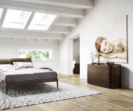 Livitalia Schlafzimmer Design Kommode Round mit Schubladen