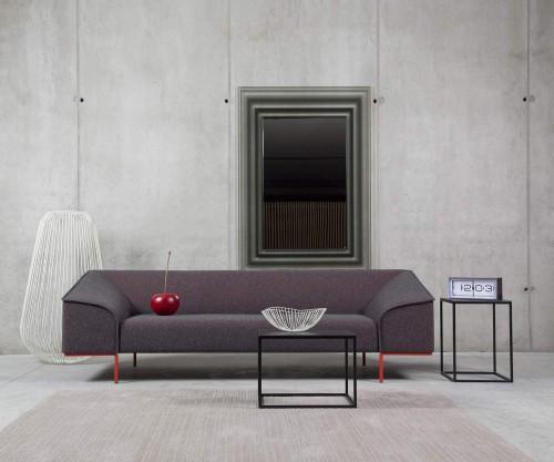 Prostoria Seam Contour Design Sofa 3-Sitzer