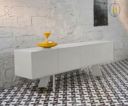 Modernes al2 Designer Sideboard Alhambra 003 A C15 in Weiß