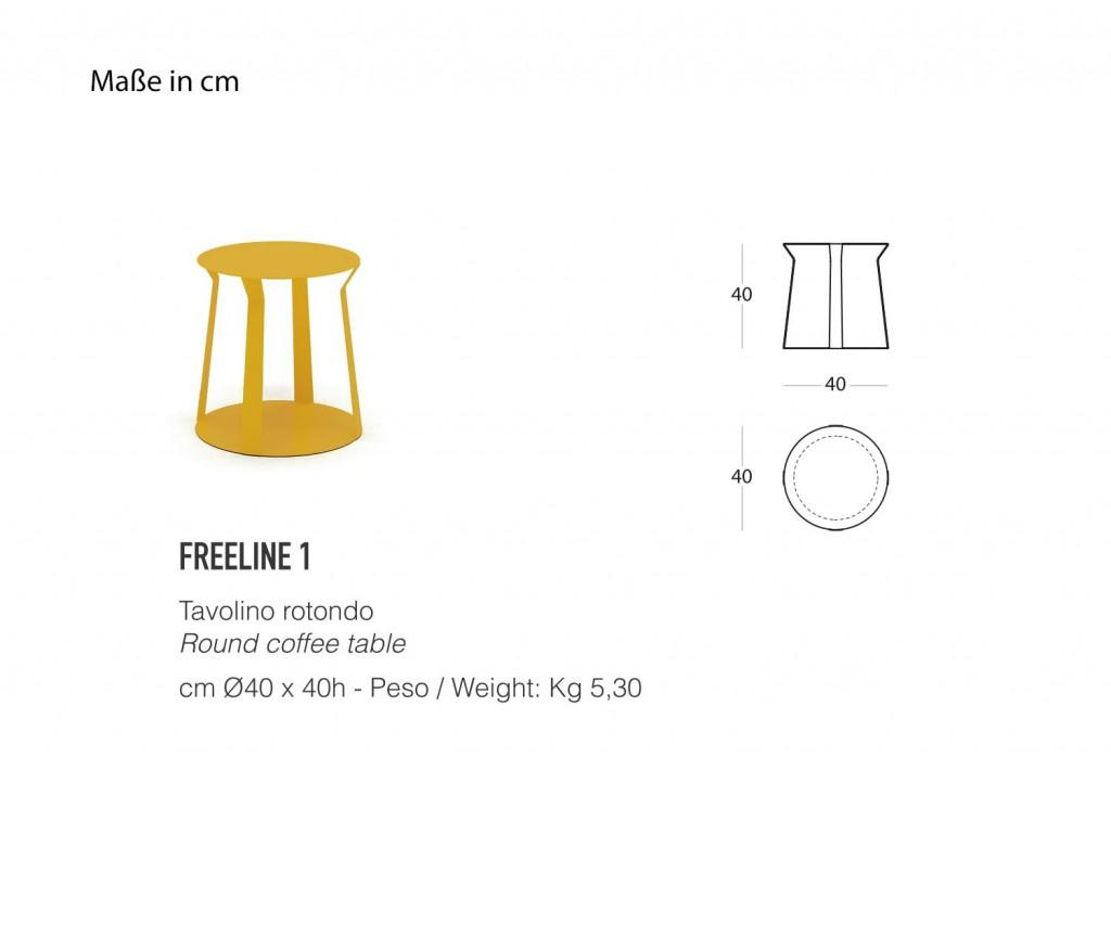 MEME DESIGN Freeline 1 Beistelltisch