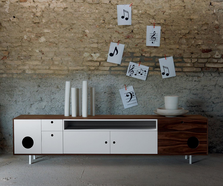 Miniforms tv sideboard caixa xl for Wer braucht gebrauchte mobel