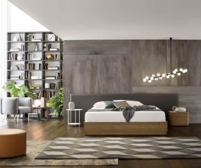 Wohnideen: Novamobili Nachttisch Norman 2 Schubladen