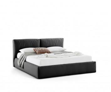 Novamobili Polsterbett Brick mit Bettkasten
