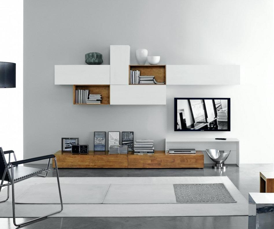 Good Moderne Design TV Wohnwand FGF Mobili C22B Nice Ideas