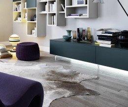 Moderner Livitalia TV Möbel Design Sockel mit Beleuchtung