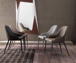 Hochwertiger Ozzio Design Stuhl Betta