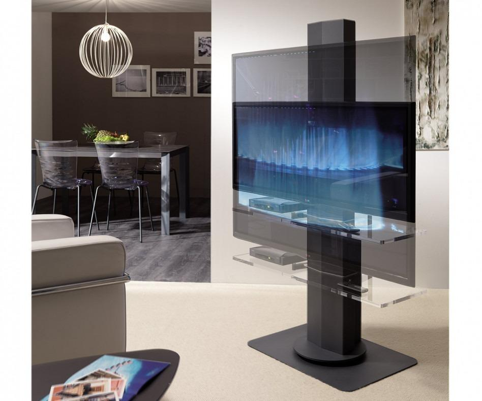 ozzio tv st nder uno elektrisch verstellbar. Black Bedroom Furniture Sets. Home Design Ideas