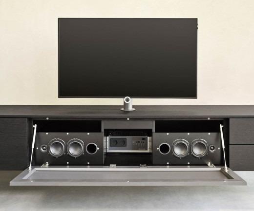 Livitalia Audio Wohnwand C51 Mit Integrierten Lautsprechern