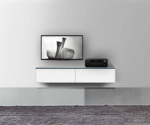 Novamobili Reverse Lowboard TV Möbel Hängend B 180 cm