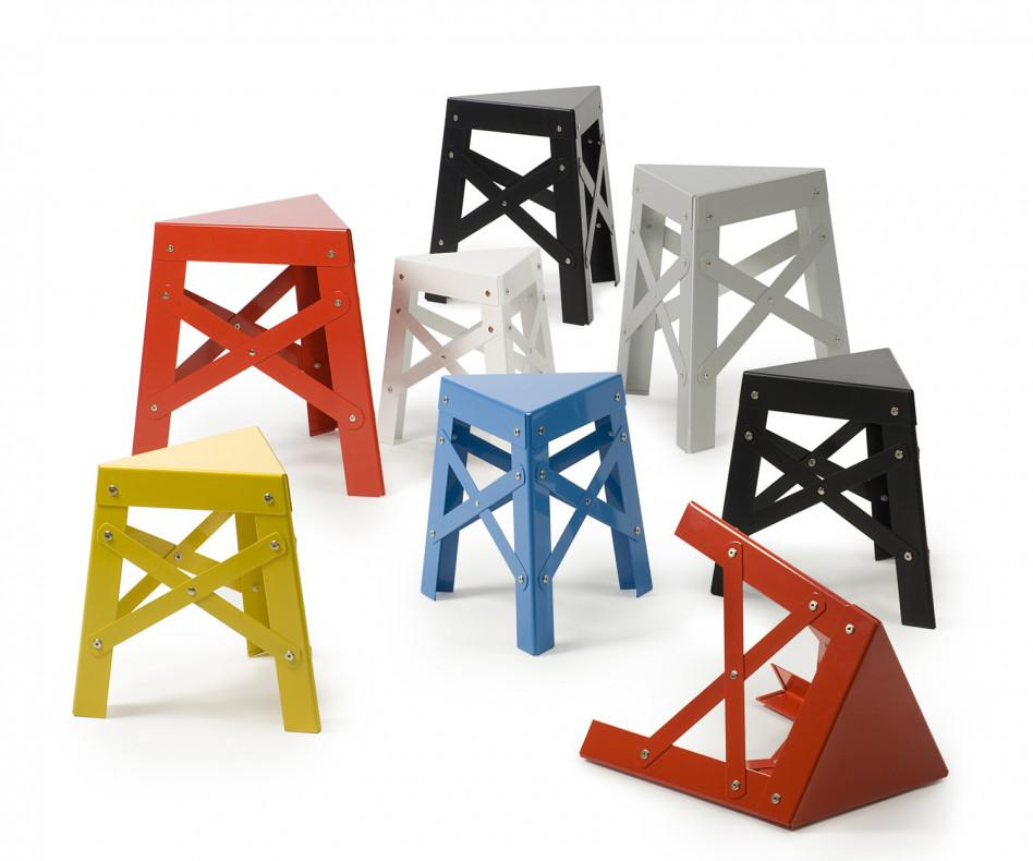 RS Barcelona Eiffel Alu Kids Hocker
