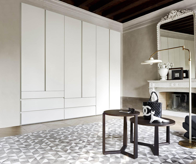 Livitalia Kleiderschrank Collage mit integrierten Schubladen