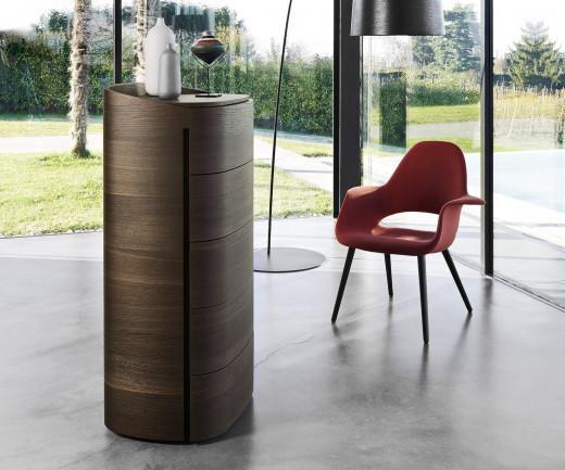 Livitalia Design Hochkommode Round