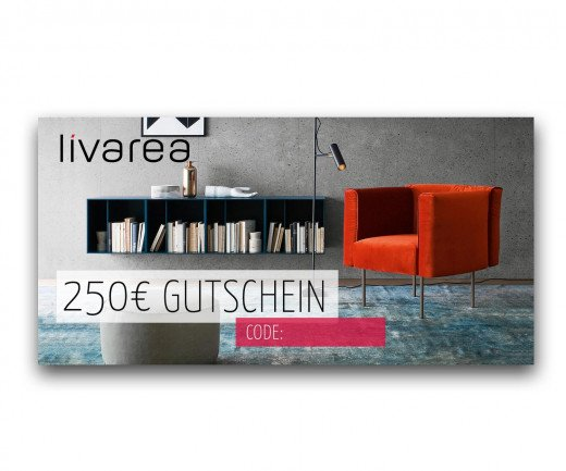250€ Livarea Geschenkgutschein