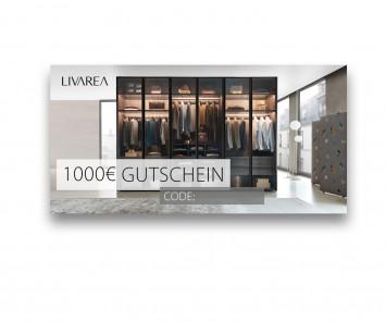 1000€ Geschenkgutschein