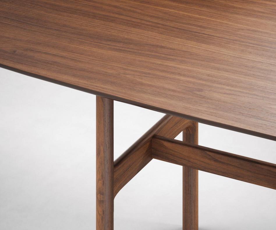 Hochwertiger Novamobili Tisch Torii Nussbaum