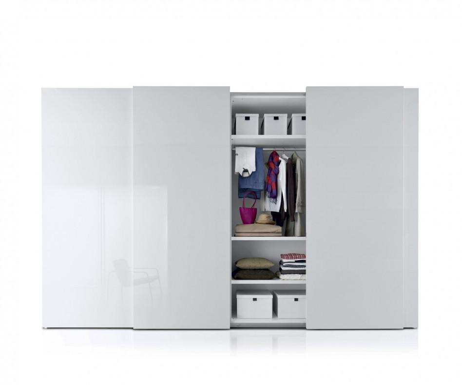 novamobili kleiderschrank plane schiebet ren. Black Bedroom Furniture Sets. Home Design Ideas