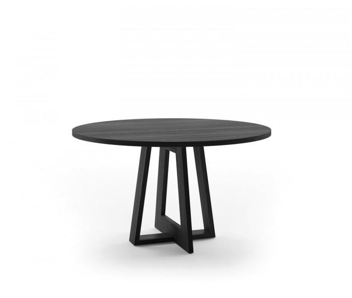 Esstisch Dunkel Rund ~ Novamobili Tisch Adam rund Ø 129 cm mit Kufen