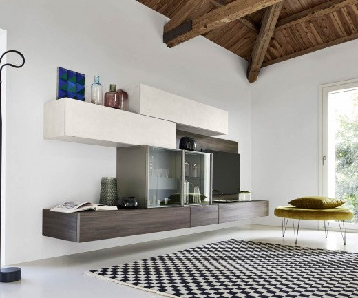 Moderne Einzigartige Design Wohnwande Hangend Individuell