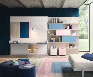 clei penelope 2 160x200 cm schrankbett zum klappen. Black Bedroom Furniture Sets. Home Design Ideas