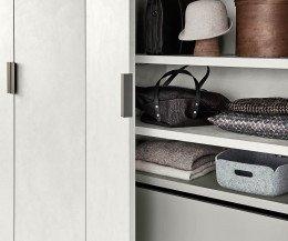Moderner Livitalia Design Kleiderschrank Liscia Innenraum