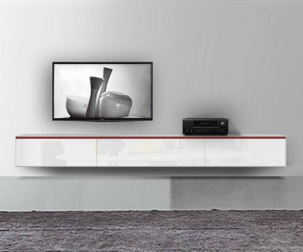 tv m bel h ngend weiss. Black Bedroom Furniture Sets. Home Design Ideas