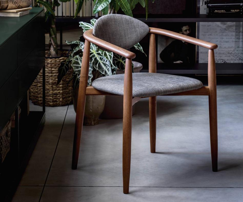 Moderner Novamobili Stuhl Rose Design Esszimmerstuhl