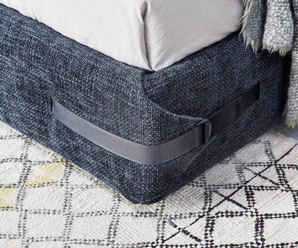 Exklusives Novamobili Design Bett Tape