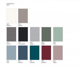 Novamobili Design Tisch matte Farben Farbmuster Mattlackierungen