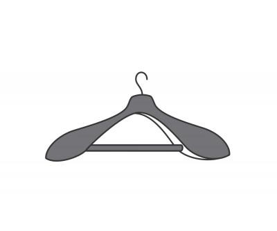 Novamobili Kleiderschrank-Zubehör Armadi Kleiderbügel 4x