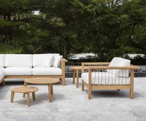 Wohnideen: Oasiq Maro Teak 2-Sitzer Sofa