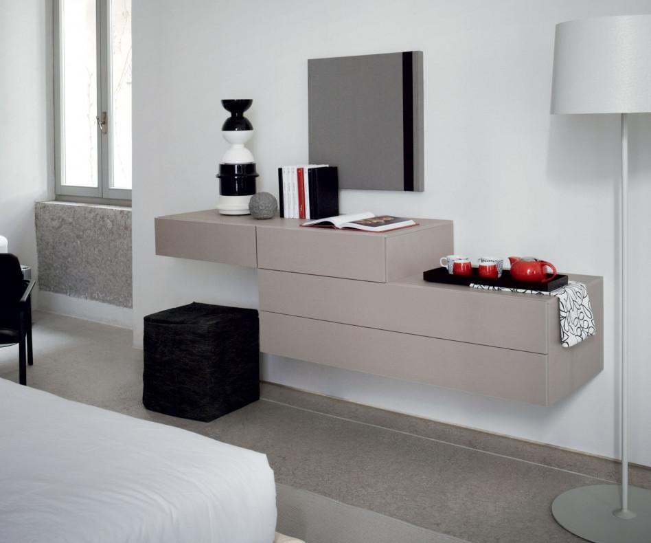 h ngekommode wei novamobili easy 2 schubladen. Black Bedroom Furniture Sets. Home Design Ideas
