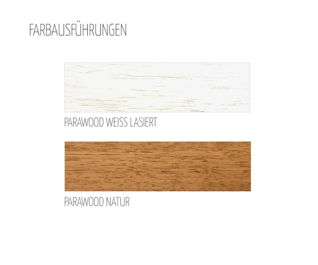 FGF Mobili KS16 Bücherregal massivholz Parawood Standregal regal