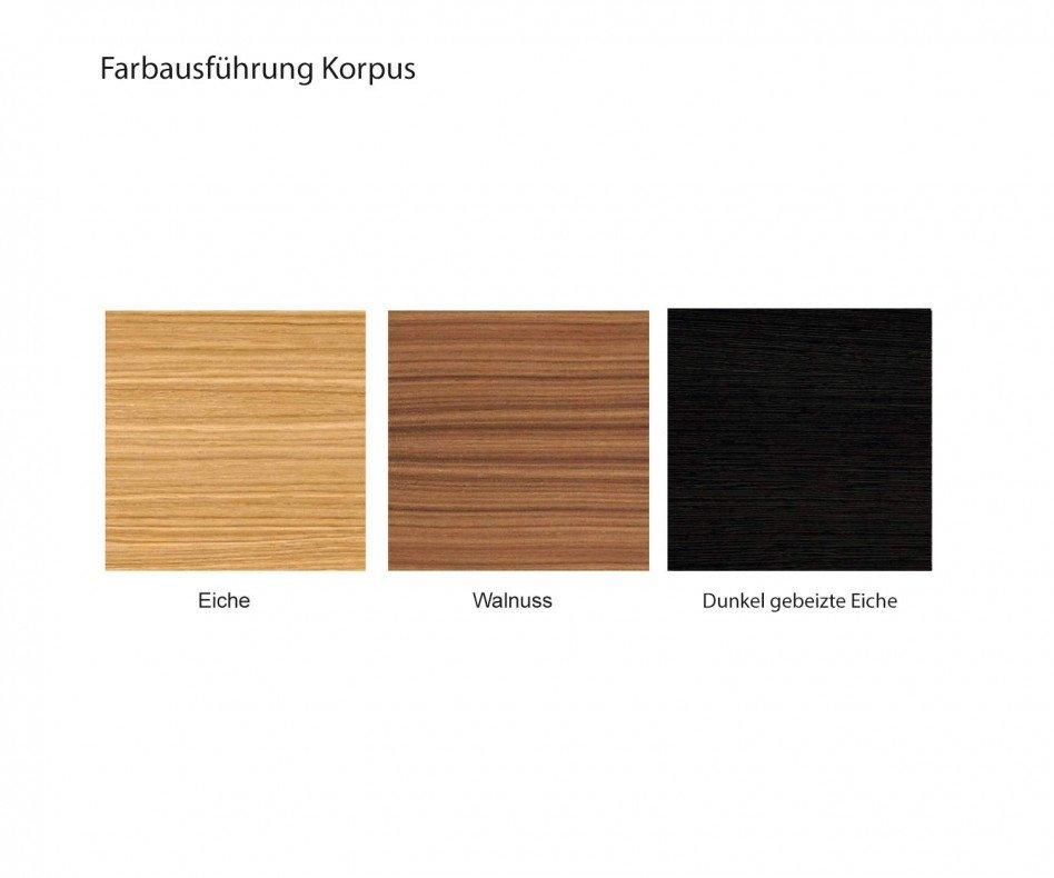 Punt Design Nachttisch Malmö Walnuss Nussbaum Furnier quaderförmig