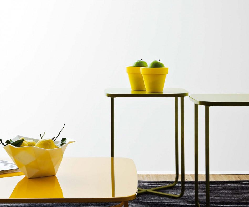 Novamobili Couchtisch Sissi 90 x 90 cm