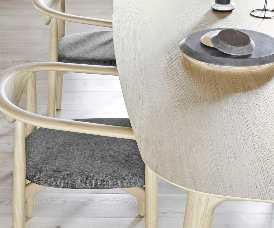 Novamobili Tisch Hanami Esszimmertisch Eiche