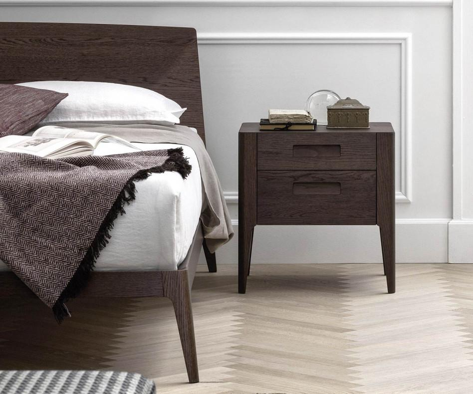 novamobili siri massivholz bett eiche. Black Bedroom Furniture Sets. Home Design Ideas