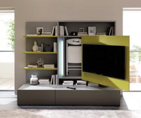 Wohnideen: Ozzio Tv-Wand Smartliving