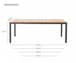 Hochwertiger Oasiq Tisch Skizze Maße Größen Größenangaben