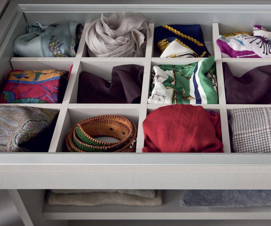 Novamobili Kleiderschrank-Zubehör Armadi Krawattenfach ausziehbar