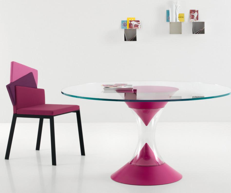 Compar Stuhl Karina pink lila rosa