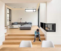Hochwertiges Prostoria Sofa Match L als Ecksofa im Designer Wohnzimmer