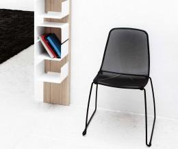 Novamobili Stuhl Hilde schwarz