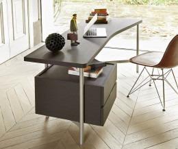 Architekten Schreibtisch mit schwebenden Schubladen