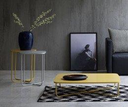 Novamobili Design Beistelltisch Sissi im Wohnzimmer
